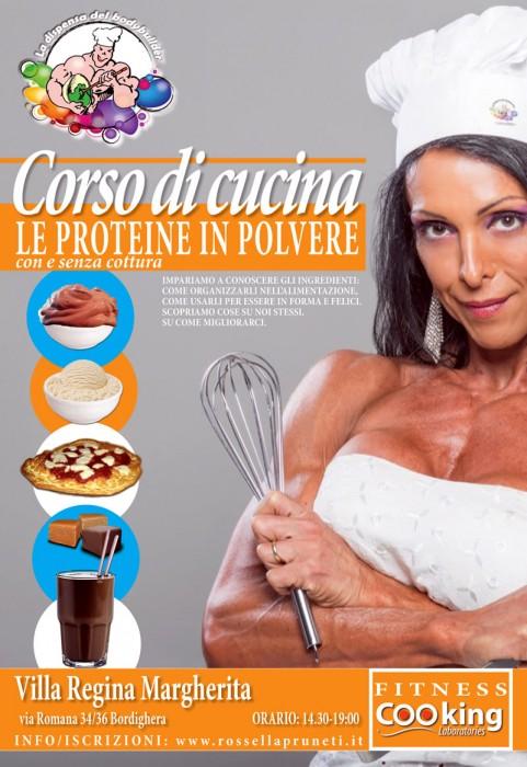 Corso di ricette con le proteine in polvere a Bordighera