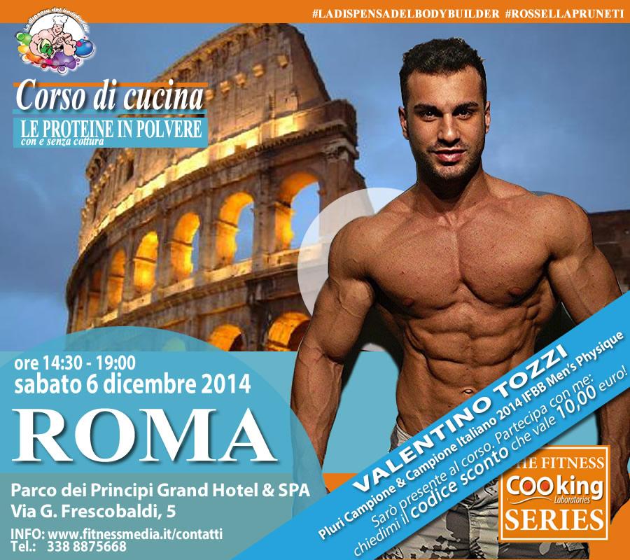 Cucinare con le proteine in polvere - Roma 6 dicembre 2014