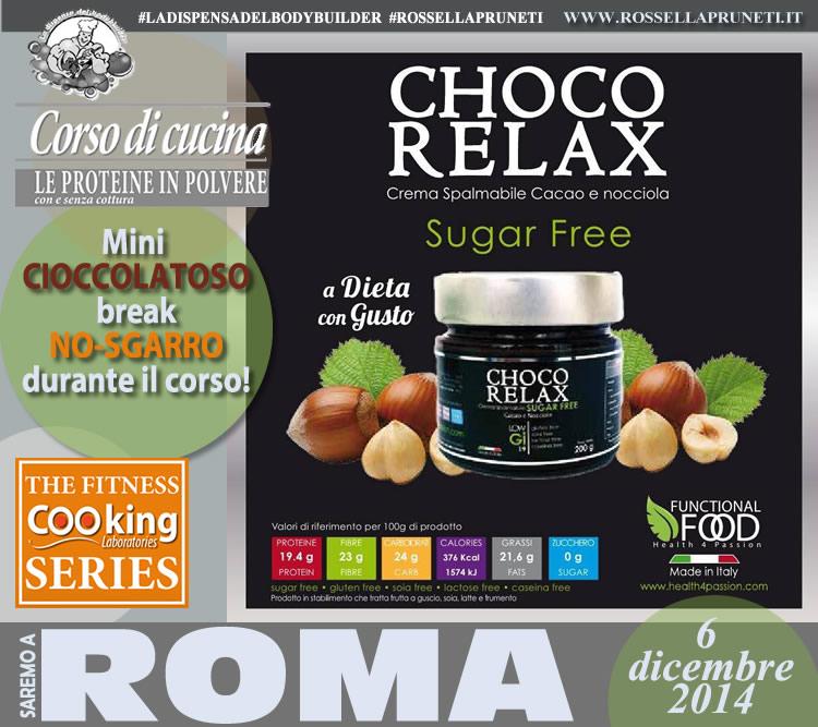 Choco Rela, functional food