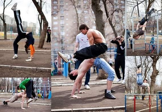 Ghetto Training Workout