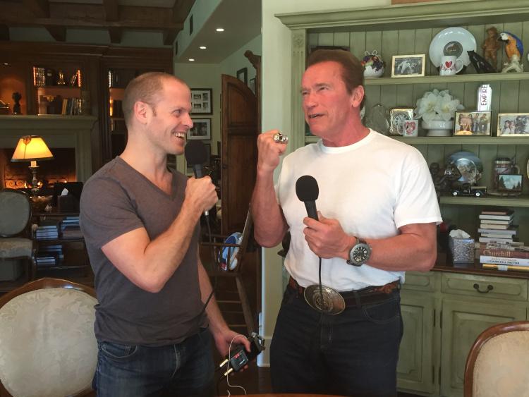 Ferriss intervista Schwarzenegger