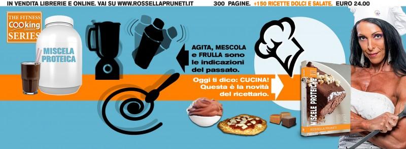 Miscele proteiche - ricettario con +150 ricette con protein blends