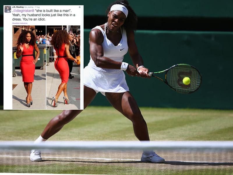 Serena Williams e il criterio di bellezza per le atlete muscolose