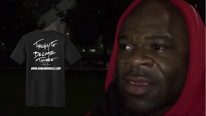 Kai Greene Thoughts are Things